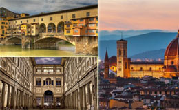 Florence walking tour from the Uffizi to food tastings