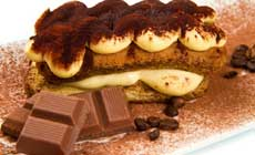 Tiramisu` and Millefoglie, the Most Italian Beloved Desserts